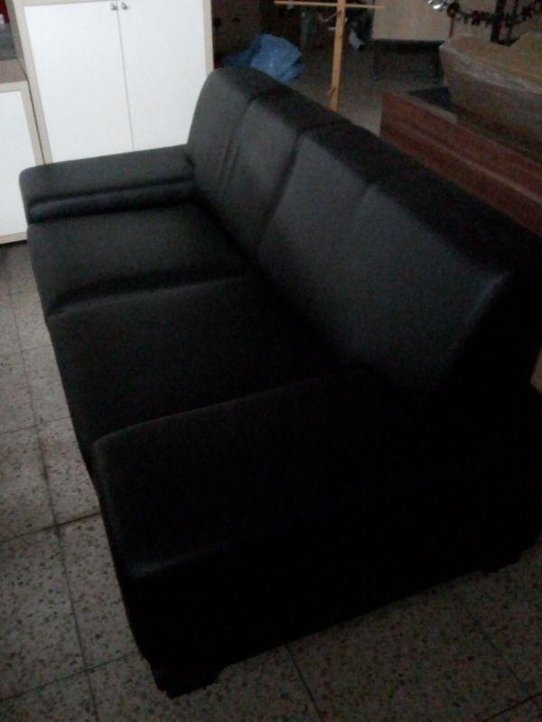 Schwarzes Sofa Leder In Reinhardshagen Polster Sessel Couch