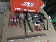 Skil Bohrhammer mit Metallkoffer Gebraucht