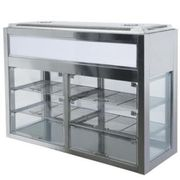 Kühlvitrine für Selbstbedienung - für Mensa