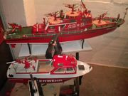 Modellbau Feuerlöschboote Düsseldorf u Hafenschutzboot