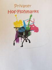 Hofflohmarkt am 6.