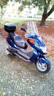 Reparatur von Motorroller