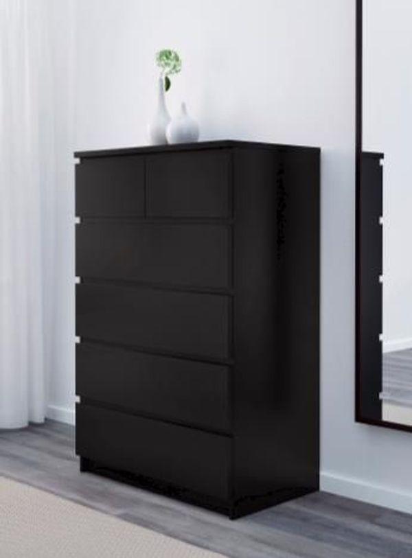 ikea malm kommode mit 2 schubladen ankauf und verkauf anzeigen. Black Bedroom Furniture Sets. Home Design Ideas