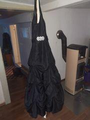 Abendkleid in schwarz gr 38