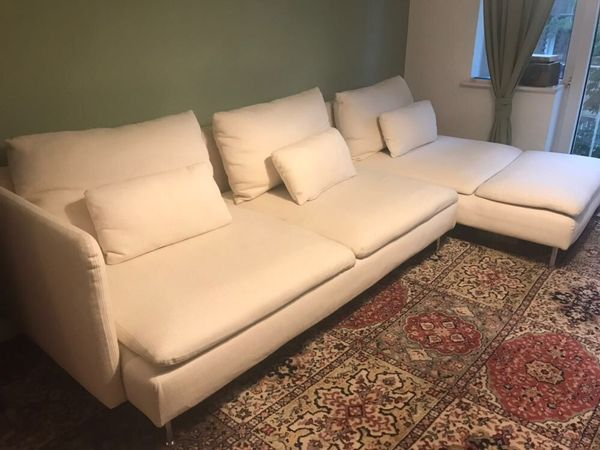 ikea s derhamn 4 er sofa in beige in hamburg ikea m bel kaufen und verkaufen ber private. Black Bedroom Furniture Sets. Home Design Ideas